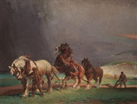 a thunderstorm by ernest herbert whydale