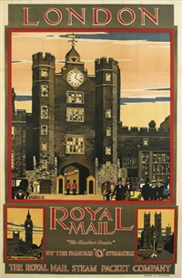 london/royal mail by kenneth shoesmith