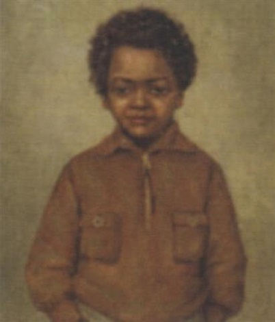 portrait of a boy by arnold lodewijk bokhorst