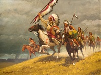 cheyenne thunder by harvey william (bud) johnson
