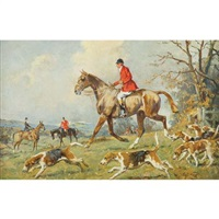 fox hunt by gilbert scott wright