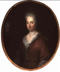 bildnis einer dame, wahrscheinlich margaretha catharina beck by martinus de la court