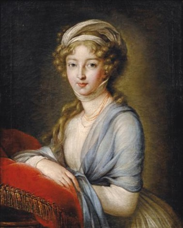 portrait of grand duchess elisabeth alexeevna by elisabeth louise vigée le brun