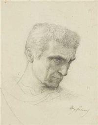 portrait d'homme de trois-quarts by alexandre cabanel