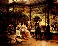 garden party by adrien de boucherville