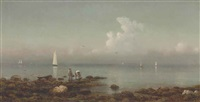 thimble islands near new haven by martin johnson heade