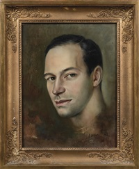 portrait de bernard minoret by leonor fini