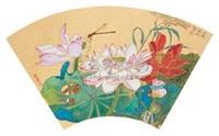 荷花蜻蜓 by deng jingmin