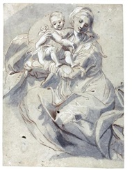 madonna and child by girolamo mazzola bedoli