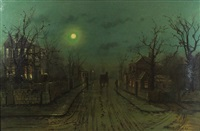 Street Scene, 1888