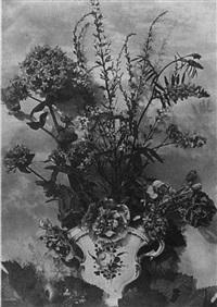 flower study by charles aubry