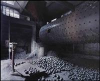 wushan #6, cement plant, yangtze river, china by edward burtynsky
