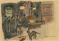 mcsorley's ale house by stuart davis