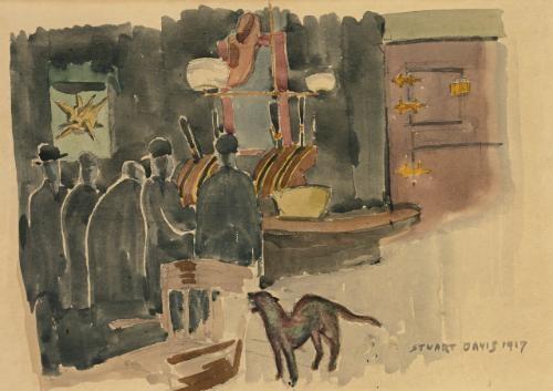 mcsorleys ale house by stuart davis