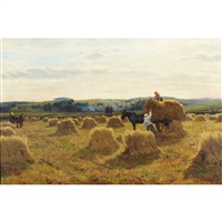 a harvest day in galloway by david farquharson