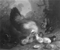 feeding her chicks by mary russell smith