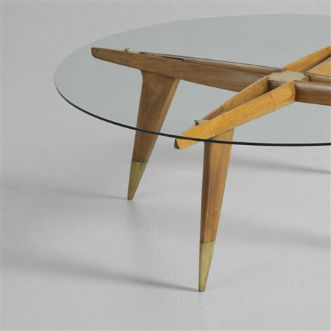 early coffee table by gio ponti