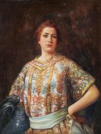 ritratto femminile by vincenzo migliaro