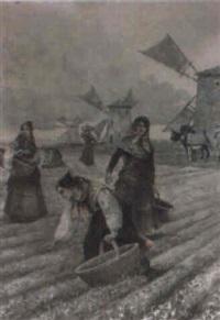 recolectoras manchegas by manuel alcazar y ruiz