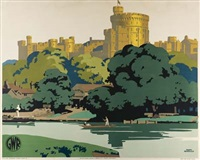 windsor castle by frank newbold