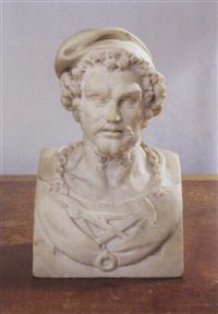 bust of vulcan by jean raon
