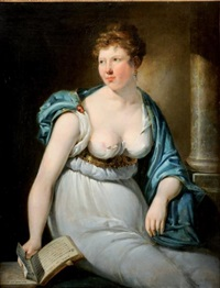 femme au livre by pieter fontijn