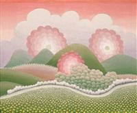 paysage aux collines by ivan rabuzin