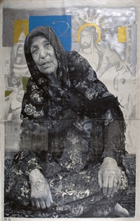 mother (from the terrorist series) by khosrow hassanzadeh