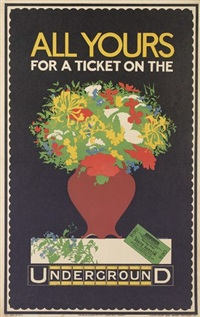 all yours for a ticket/on the underground by p. cottingham