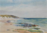 view south, cottesloe by george courtney benson