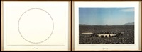where de walk meets the place (+ dessert circle; 2 works) by richard long