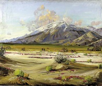 desert scene by james arthur merriam