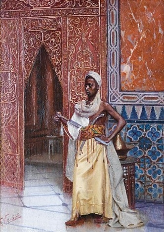 harem guard by rudolf weisse