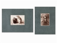 2 animal photographs (2 works) by albert renger-patzsch