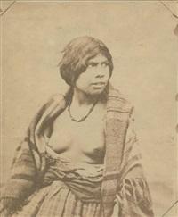 femme de la tribu mik'maq (micmac) by paul-emile miot
