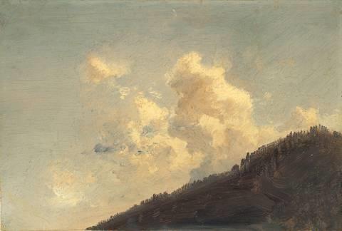 wolke über dem hang by johan christian clausen dahl