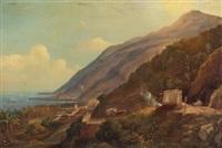 vista de caracas by fritz siegfried george melbye