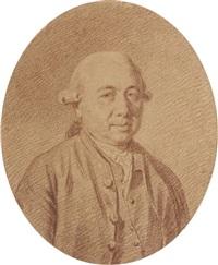 portrait d'un homme en buste by jacques antoine marie lemoine