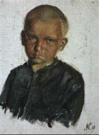 portrait de garcon by mikhail smirnov