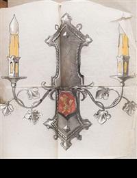 divers éléments d'architecture (42 works) by gilbert poillerat