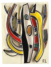 composition abstraite by fernand léger