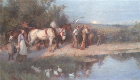 the return from harvest by william gilbert foster
