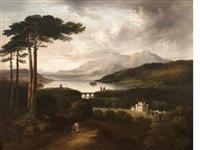 taymouth castle by alexander nasmyth