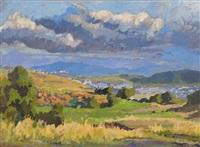 extensive landscape by aubrey fielding