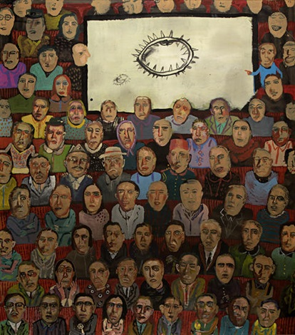 the spectators by edouardos sakayan