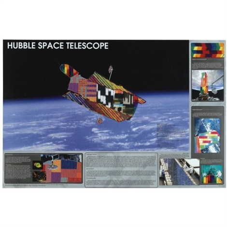 hubble space telescope by matthew day jackson