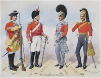 6th inniskilling dragoons from 1751-1845 by richard simkin