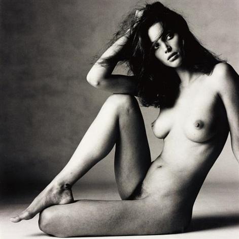 Nude Christy Turlington C, New York by Irving Penn on artnet