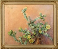 still life with cactus by marion boyd allen