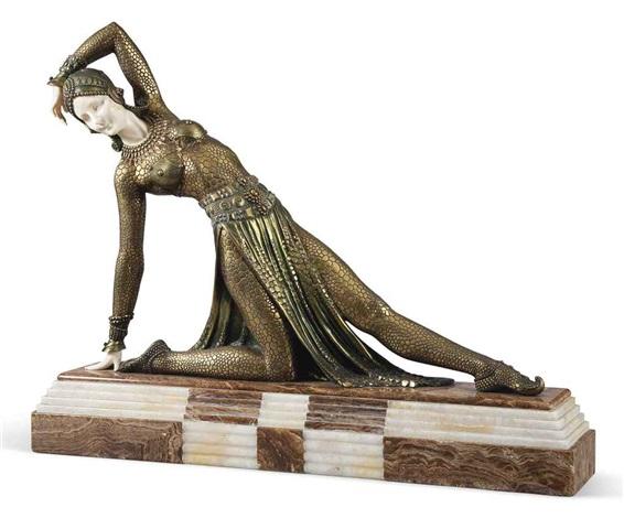 exotic dancer by demetre chiparus
